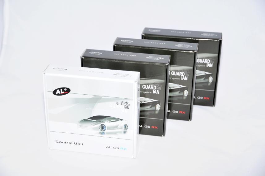 Antilaser AL G9 RX Test