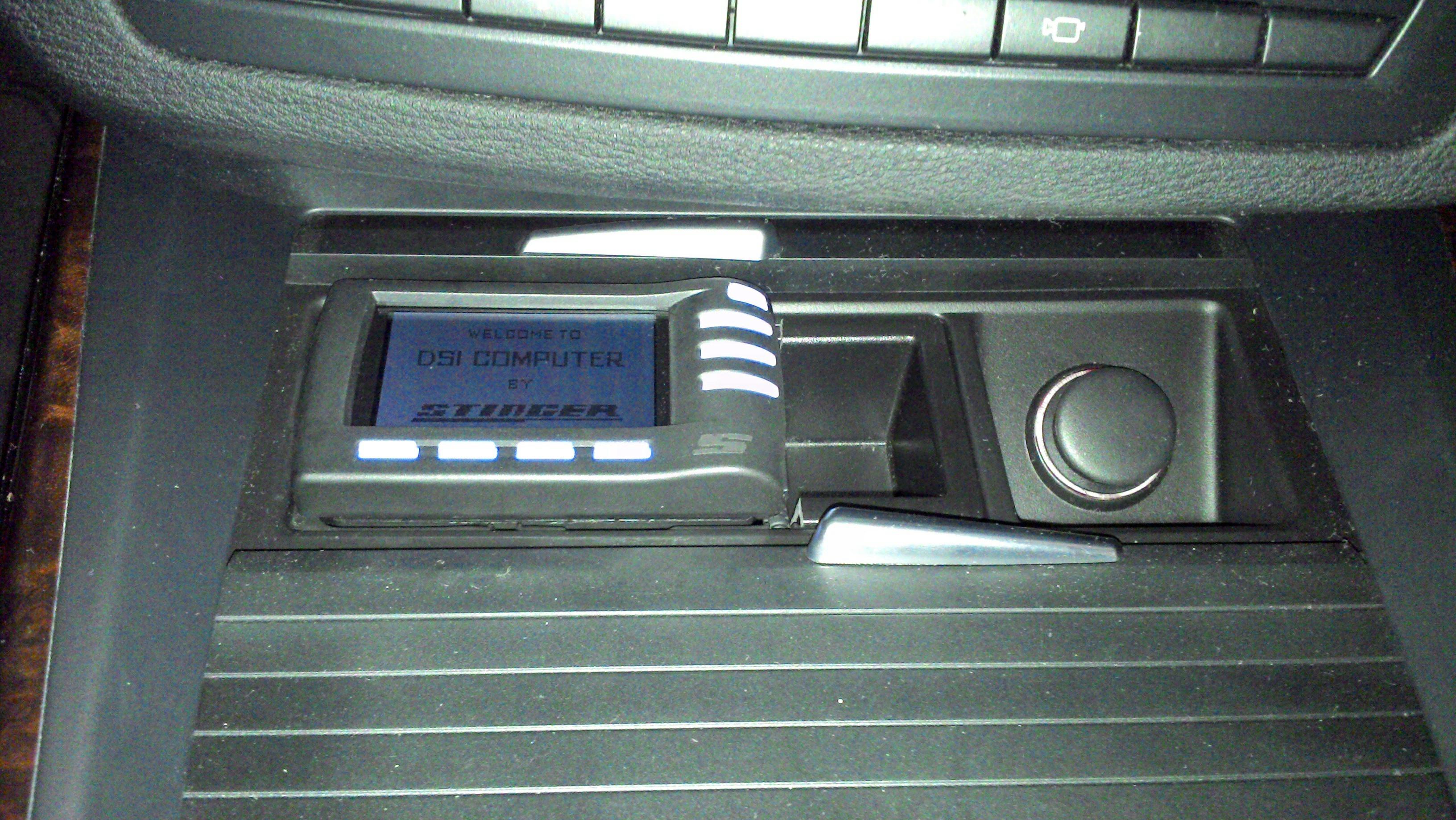 Stinger DSI - BMW Innenraum