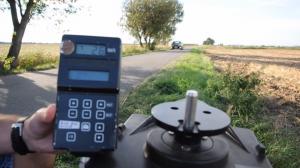 multanova 6F Radarfallen Test